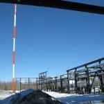 Parkland Gas Facility Flare